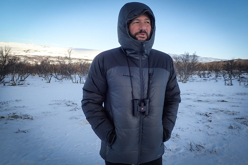 Test veste Mammut Ambler Hooded JKT