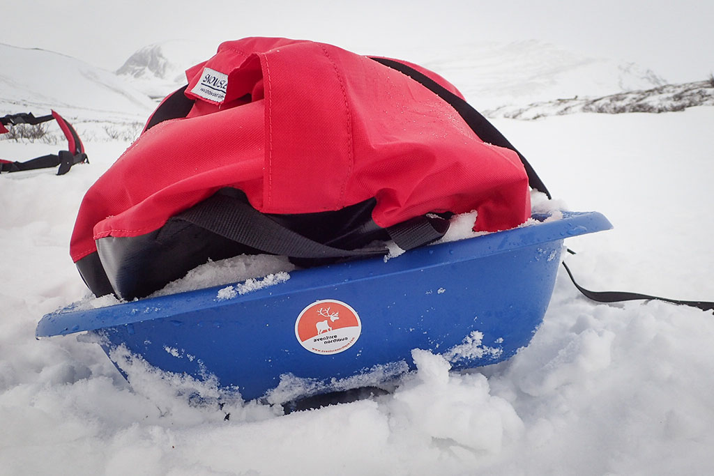 test Pulka Snowsled HDPE Trail
