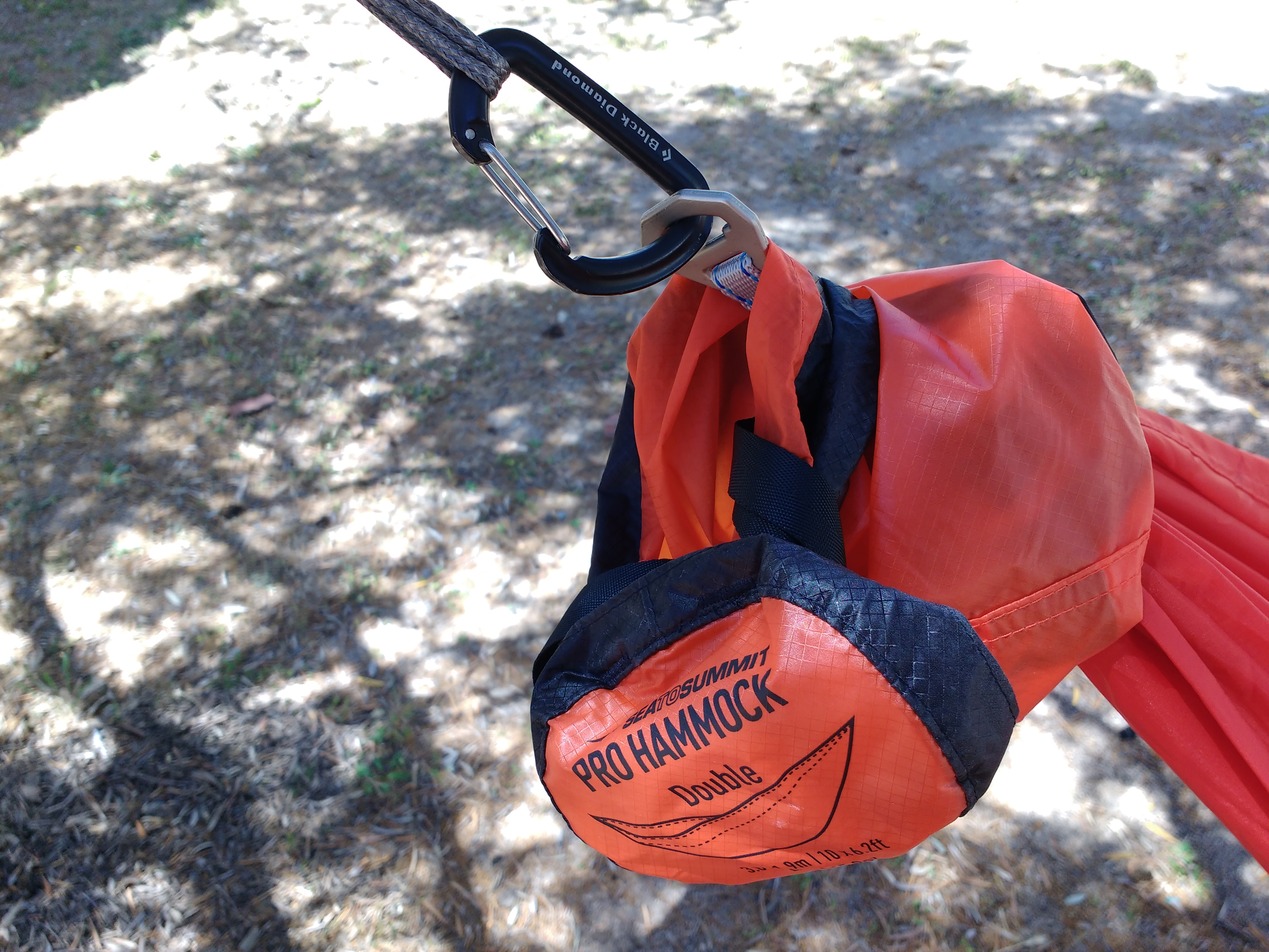 Test Hamac Sea To Summit Hammock Pro Double