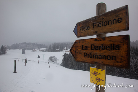 Direction la Darbella