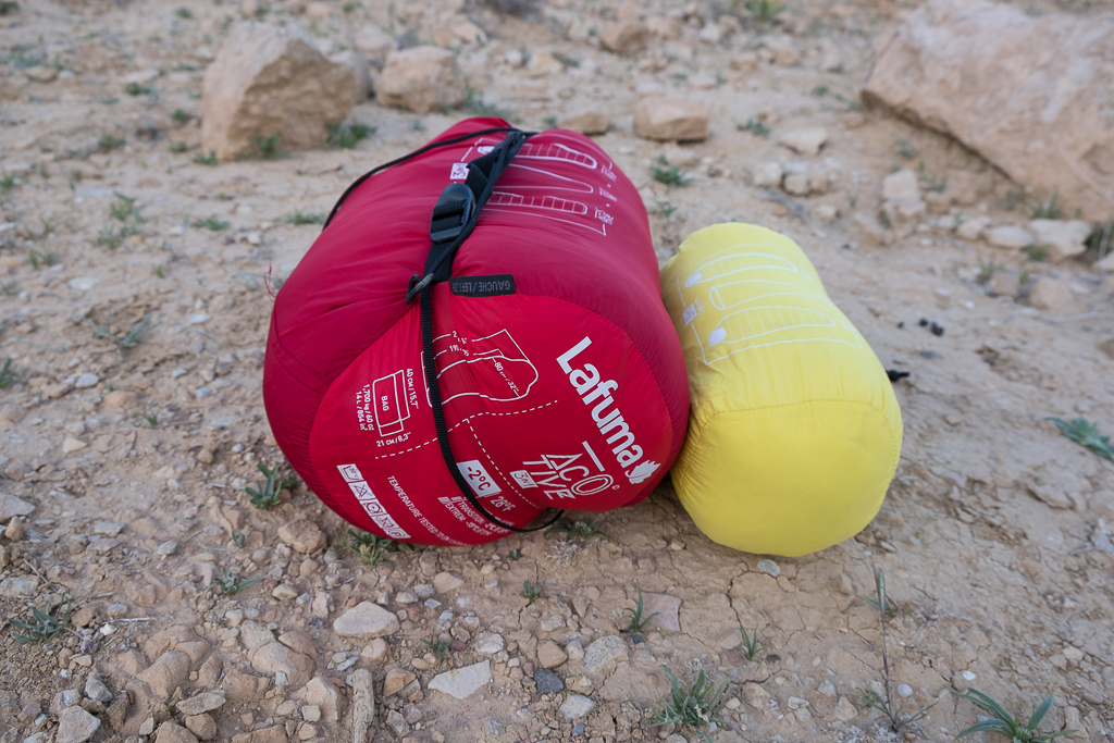 Test sac de couchage Lafuma Active 0° 3IN1