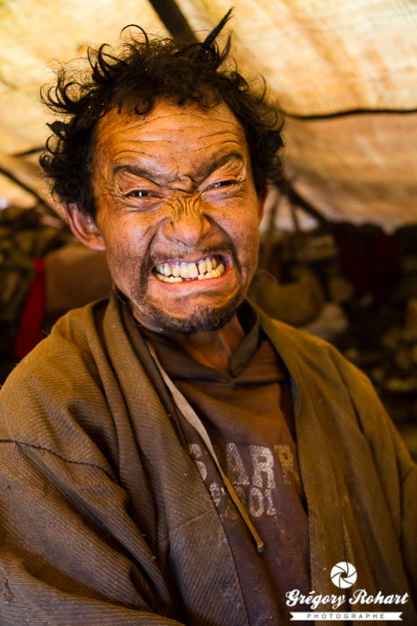 Grimace made in Tibet