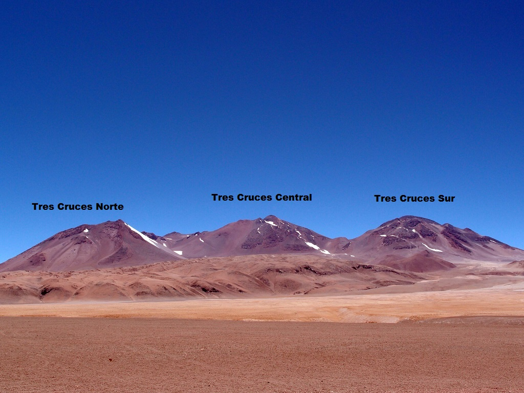Atacama : ascension du massif Tres Cruces