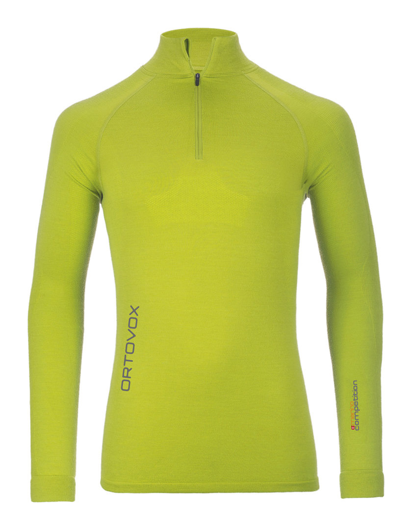 Ortovox Merino competition Long sleeve Zip Neck