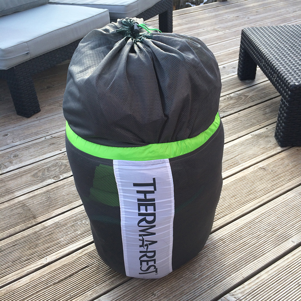 test sac de couchage therm a rest centari i trekkings