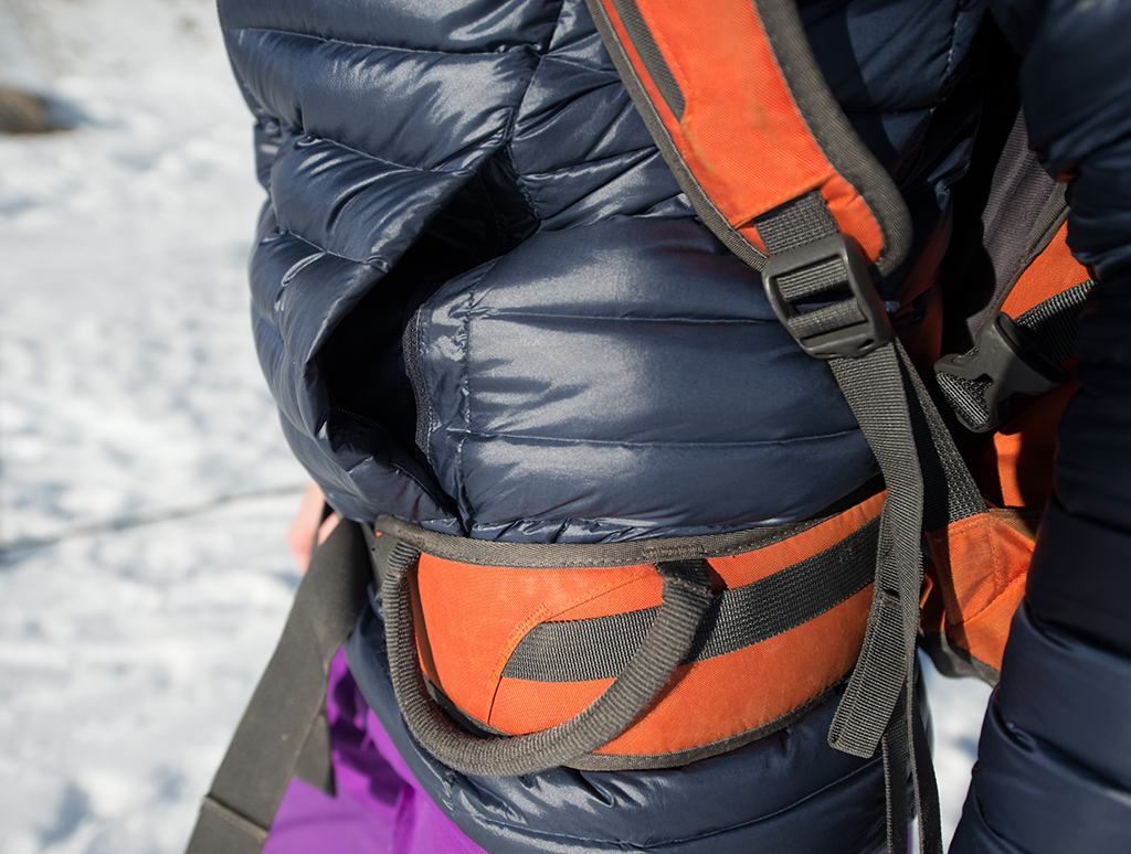 Test doudoune Millet LD Trilogy Synthesis Down Jacket
