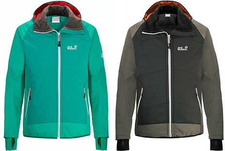 Softshell Jack Wolfskin Compound