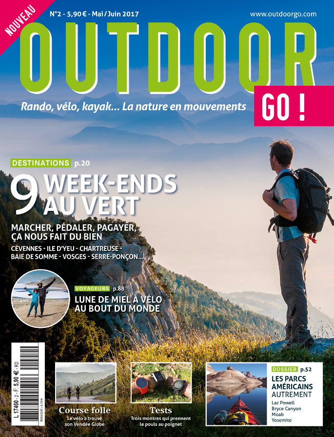 OutdoorGo ! : le nouveau mag des sports de nature