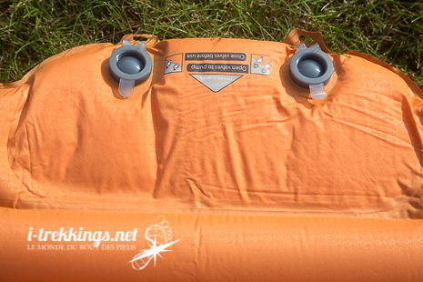Valves pour gonfler le matelas Nemo Cosmo Insulated