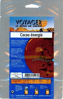 Voyager Cacao énergie