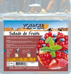 Voyager salade de fruits