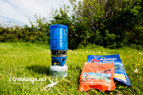 Le réchaud Jetboil Flash monte en ébullition en 2 mn (500 ml)