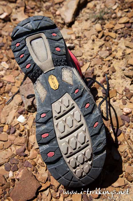Semelle Vibram de la chaussure The North Face Havoc Mid GTX