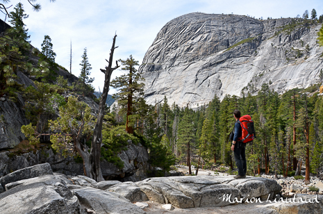 Test du sac à dos Millet Axpel 42 dans le parc national de Yosemite en Californie