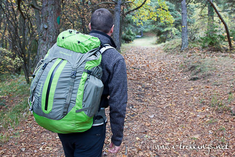 Test du sac à dos Quechua forclaz 50 Ultralight