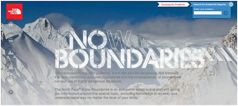 kNOw Boundaries : la nouvelle campagne de sécurité en montagne de The North Face