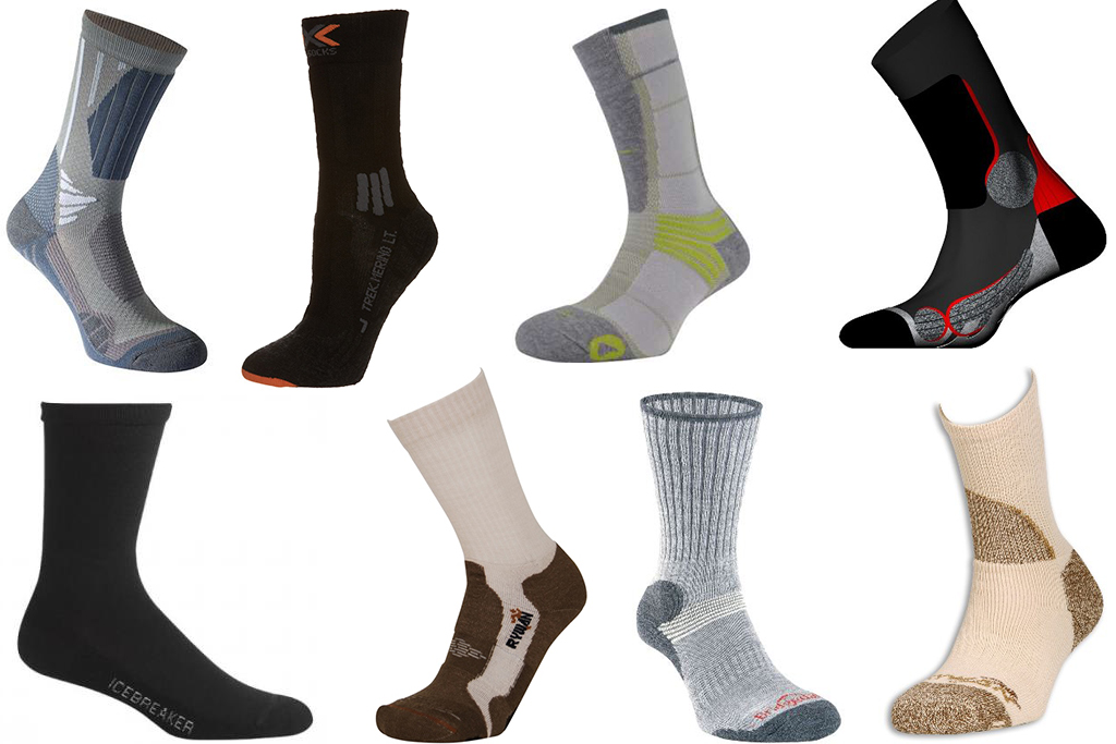 test comparatif de 8 paires de chaussettes i trekkings. Black Bedroom Furniture Sets. Home Design Ideas