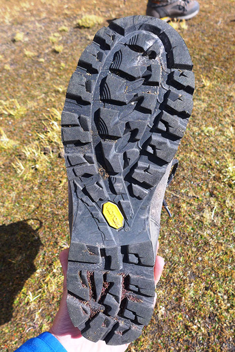 Semelle Alpin Rigid Rubber Grip de Vibram®