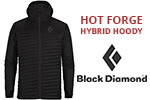 Test doudoune Black Diamond Hot Forge Hybrid Hoody