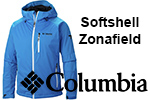 Test softshell Columbia Zonafield