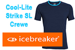 Test tee-shirt Icebreaker Cool-Lite Strike Short Sleeve Crewe