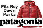 Test parka Patagonia Fitz Roy Down
