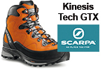 Test chaussures Scarpa Kinesis Tech GTX