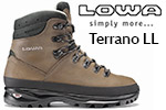 Test chaussures Lowa Terrano LL