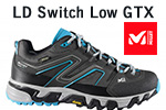 Test chaussures Millet LD Switch Low GTX