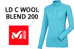 Test sous-vêtement Millet LD C Wool Blend 200