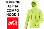 Test softshell Millet Touring Alpha Compo Hoodie