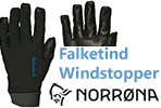 Test gants Norrona Falketind Windstopper