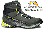 Test chaussures La Sportiva Nucleo GTX