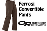 Test pantalon Outdoor Research Ferrosi Convertible Pants
