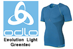 Test sous-vêtement Odlo Evolution Light Greentec