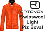 Test veste Ortovox Swisswool Light Piz Boval