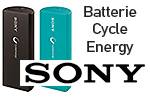 Test batterie Sony Cycle Energy CP-V3A