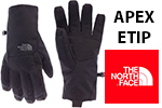 Test gants The North Face Apex Etip