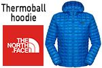 Test doudoune The North Face Thermoball hoodie