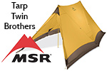 Test tarp MSR Twin Brothers