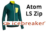 Test veste Icebreaker Atom Long Sleeve Zip