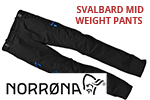 Test pantalon Norrona Svalbard mid weight Pants