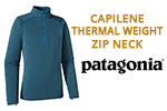 Test sous-vêtement Patagonia Capilene Thermal Weight Zip Neck