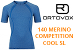 Test sous-vêtement Ortovox 140 Merino Competition Cool Short Sleeve