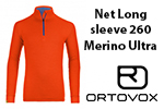 Test sous-vêtement Ortovox Net Long sleeve 260 Merino Ultra