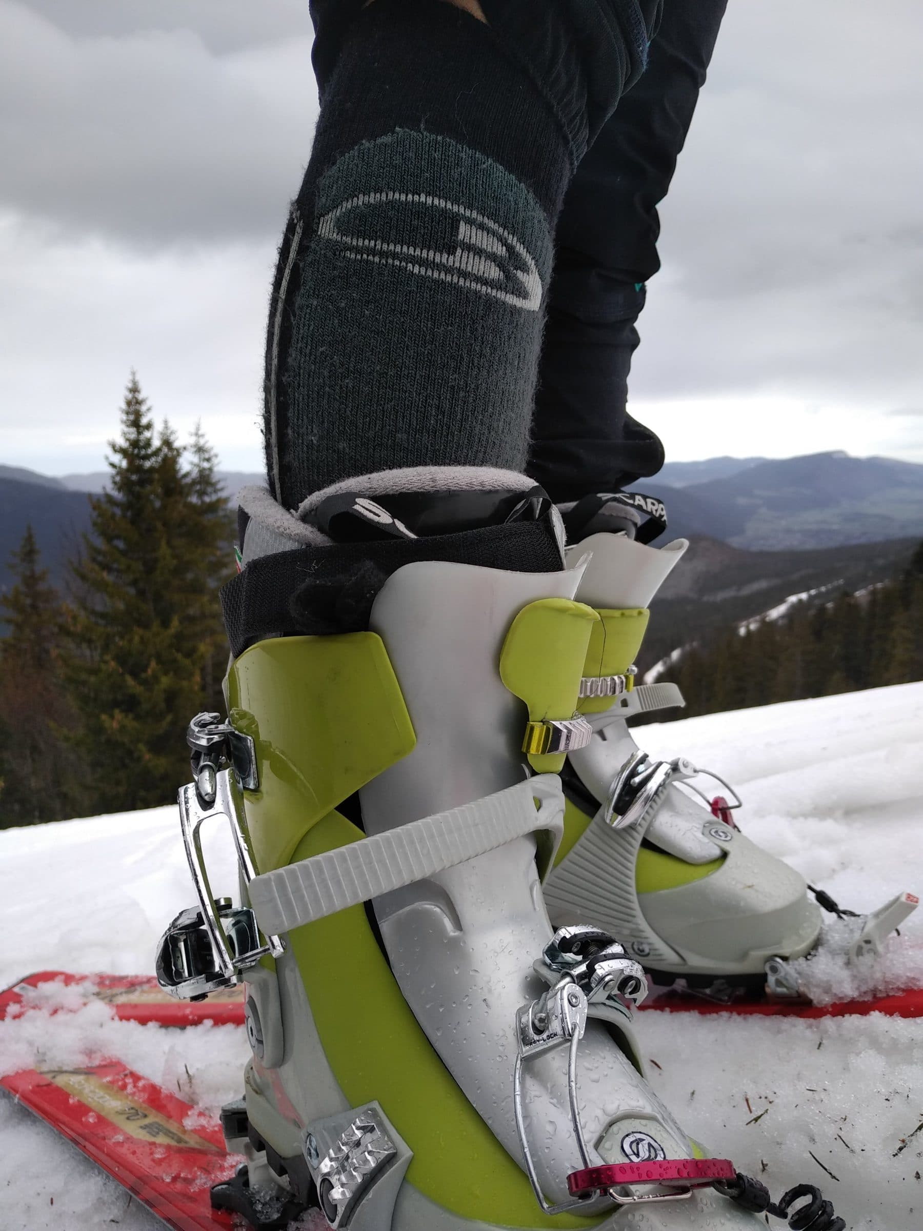 Chaussettes Icebreaker Ski+ Medium Over The Calf