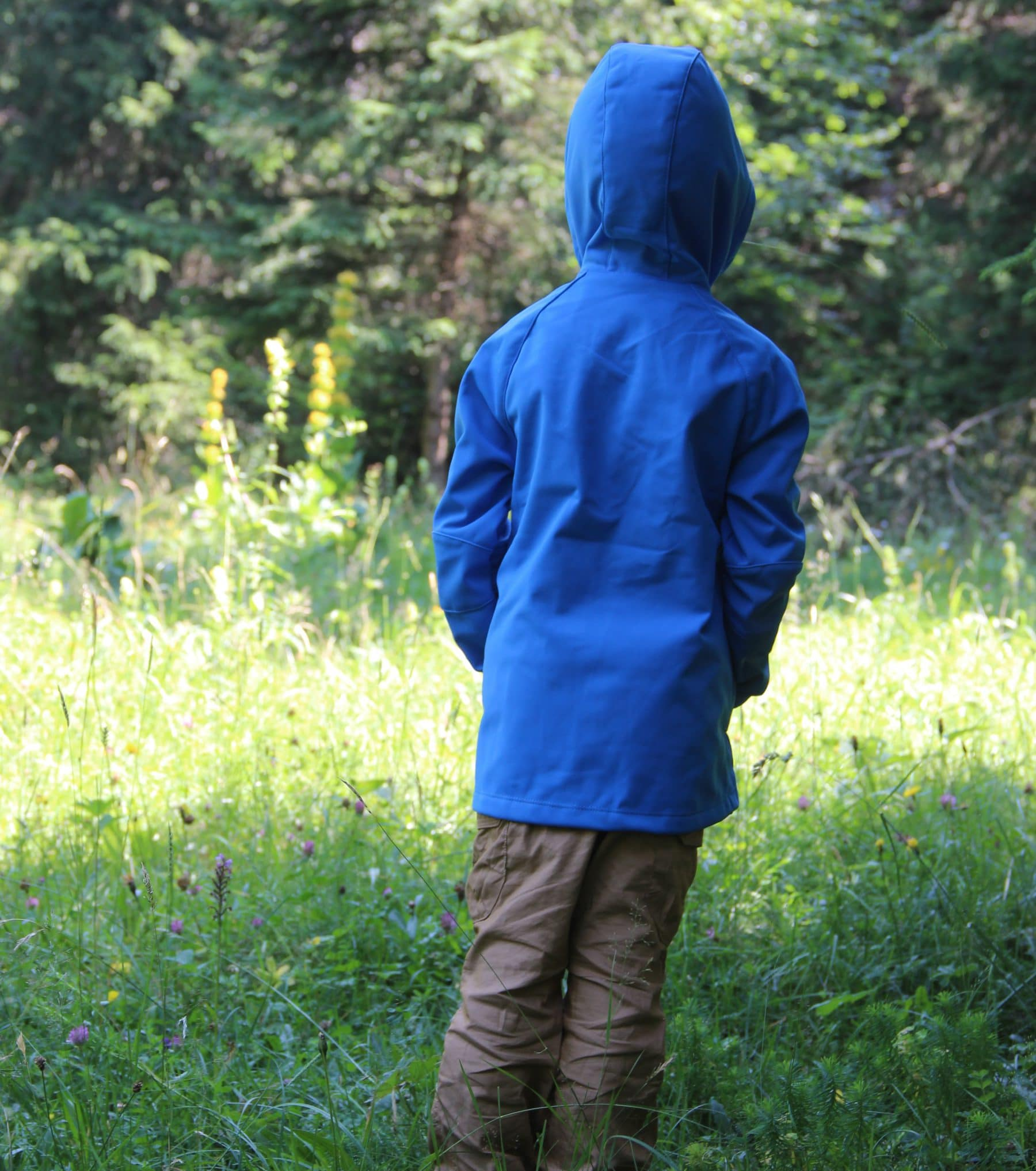 Test softshell enfant Quechua Hike 900 Windproof