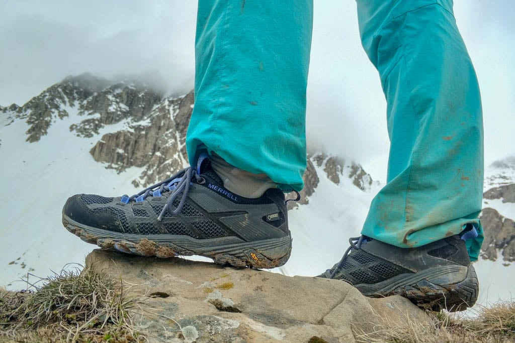 Test chaussures Merrell Moab FST2 Gore tex Femme, performantes
