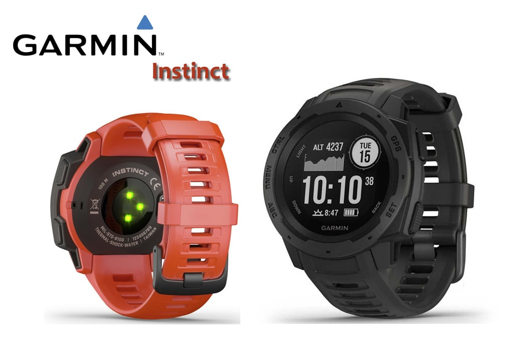 Test montre Garmin Instinct