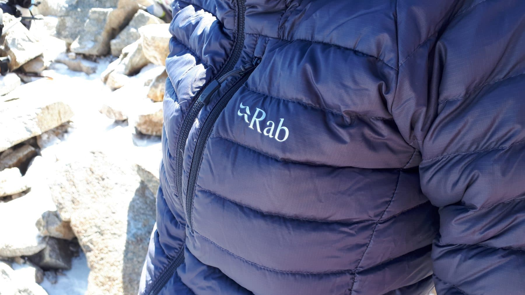 Test de la doudoune Rab Women's Microlight Alpine Jacket
